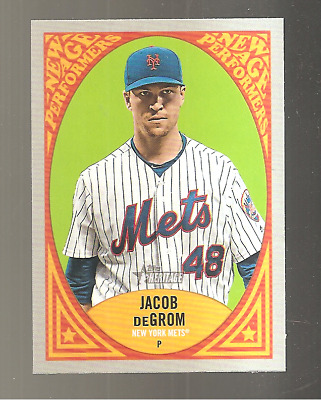 2019 Topps Heritage Jacob DeGrom New Age Performers NAP-19 New York Mets