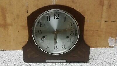 1930s mantle Clock with unusual triple chime, Westminster, whit, St Michael