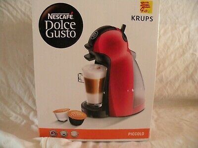 Dolce Gusto  Piccolo rouge neuve