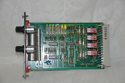 Leybold E-MU 2 Printed Circuit Control Board - Used Condition