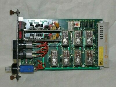 Leybold SBD 05 Printed Circuit Control Board - Used Condition