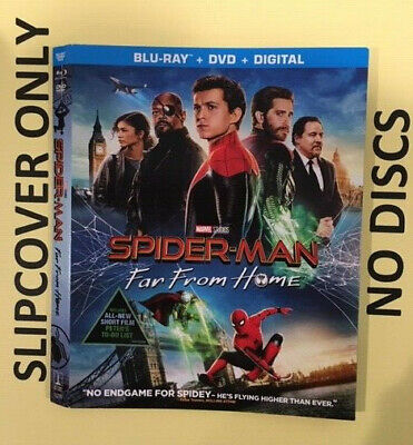 Spider-man: Far from Home (2019) - Blu-ray Slipcover ONLY - NO DISCS