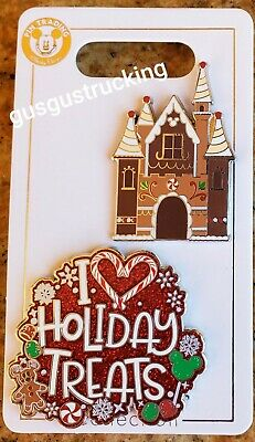 New Disney Parks (2019 Christmas - Gingerbread, Holiday Treats) Open Edition Pin