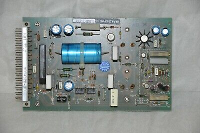 BALZERS Printed Circuit Control Board B 5181 103 RI - Used Condition