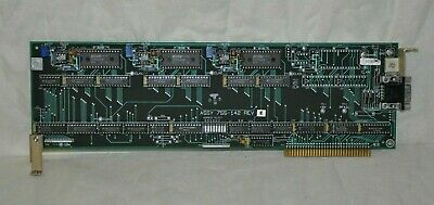 Leybold Inficon Printed Circuit Control Board ASSY 755-142 REV - Used Condition
