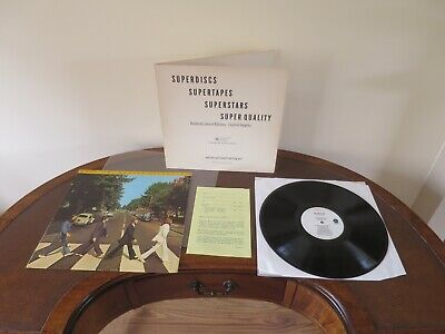The Beatles - Abbey Road LP - Ex+ Vintage MFSL Audiophile Vinyl - World Shipping