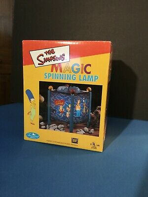 Simpsons Motion Lamp 1998 ~ Simpson Family /& Cat ~ Unused NIB