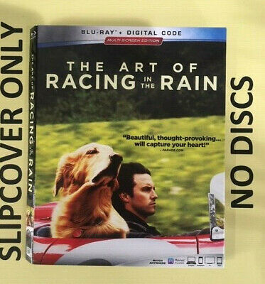 The Art of Racing in the Rain (2019) - Blu-ray Slipcover ONLY - NO DISCS