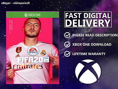 Fifa 20 {Xbox One} Digital Download 🎮 Read Description Please