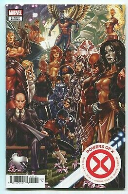 Powers Of X #1 Mark Brooks Connecting Variant Cover! Hickman X-Men! See Scans!