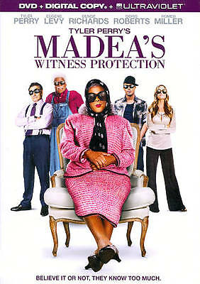 Tyler Perry's Madeas Witness Protection (DVD, 2012) DISC ONLY