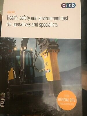 Health Safety and Environment Test for Operatives Specialists Book