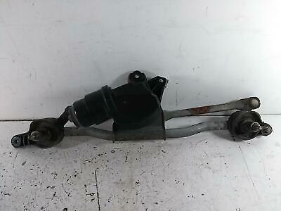 2010 VAUXHALL AGILA Front Wiper Mechanism Motor Assembly Linkage 95517285