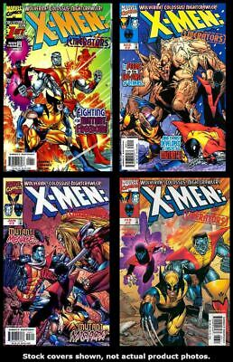 X-Men: Liberators 1 2 3 4 Marvel 1998 Complete Set Run Lot 1-4 VF/NM
