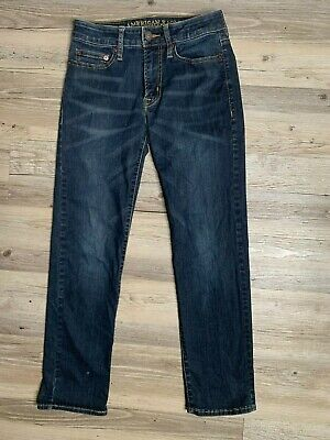 American Eagle Outfitters Blue Jeans Slim Straight Men's Size 26 x 28  GREAT GUC