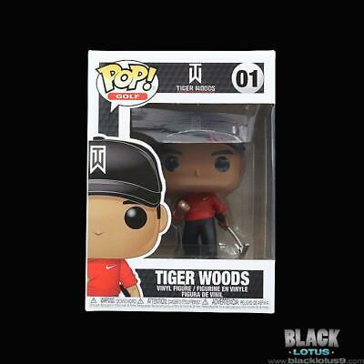 Funko Pop! Tiger Woods Golf Red Shirt Nike The Masters PGA IN STOCK Pop 01