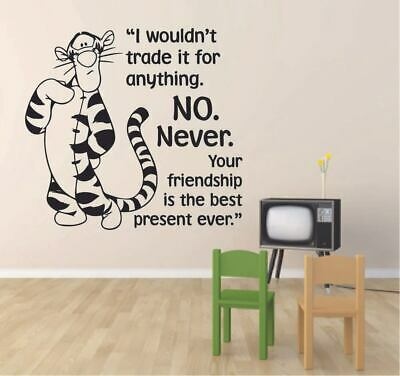 Wall Decal Quote Sticker Vinyl Art Friendship is a Million Things Friends FR16