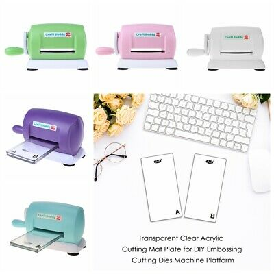 5 Colors Die Cutting Machine Manual Clear Cutting Pad for Scrapbooking Embossing