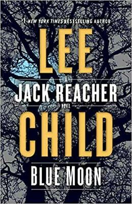Blue Moon: A Jack Reacher Novel by Lee Child  (2019, Digital)
