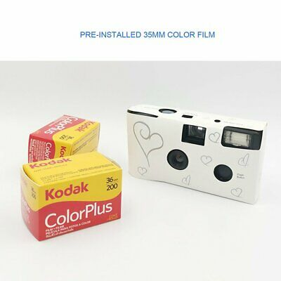 Retro 35mm Disposable Film Camera Manual Fool Optical Camera Children's Gifts