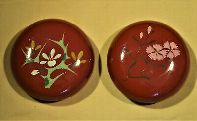 PR. VINTAGE JAPANESE LACQUERWARE LOVELY LIDDED CONTAINERS for Dresser