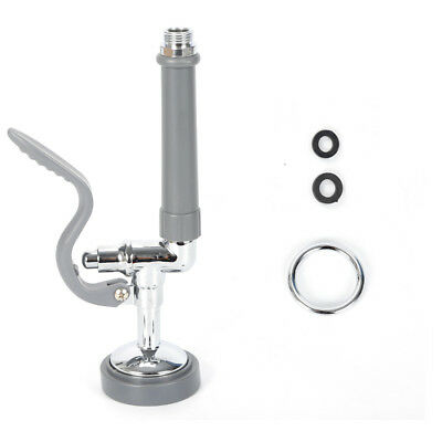 With Ring 1.42GPM Pre-Rinse Spray Valve Kit Sprayer Head Commercial Kitchen Well