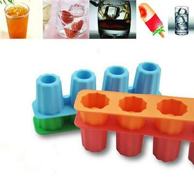 2017 Ice Cube Tray Mold Makes Shot Glasses Ice Mould Novelty Gifts Ice Tray MT