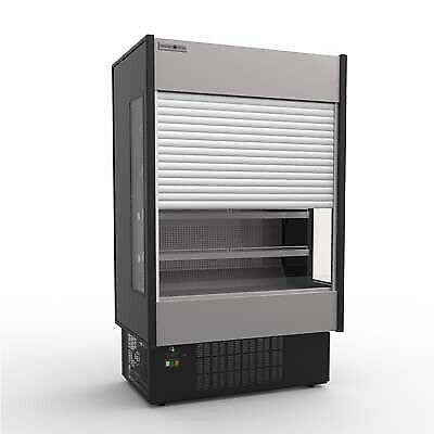 MVP Group KGH-ES-40-S Open Refrigerated Display Merchandiser