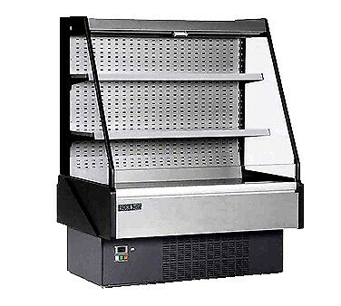 MVP Group KGL-OF-50-R Open Refrigerated Display Merchandiser