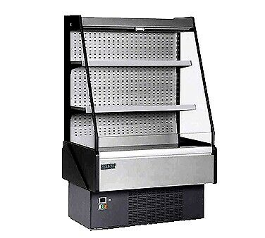 MVP Group KGL-OF-40-R Open Refrigerated Display Merchandiser