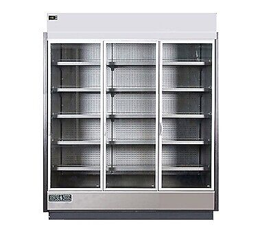 MVP Group KGV-MD-3-S Merchandiser Refrigerator