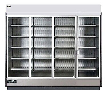 MVP Group KGV-MR-4-S Merchandiser Refrigerator