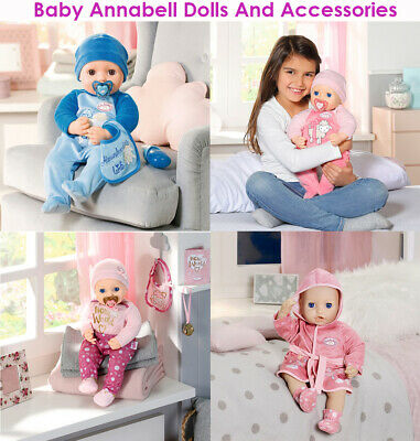 My First Baby Little Annabell Zapf Collection Alexander Girls Doll Accessories