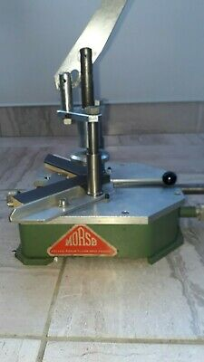 Morso underpinner picture framing machine for use with guillotine , mountcutter