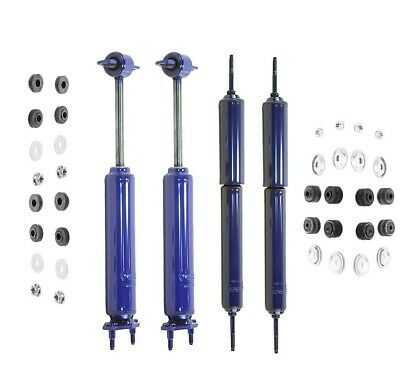 For Monroe Matic Plus Shocks Front /& Rear ford Mustang 1965-1970