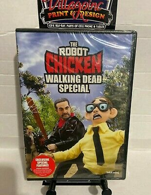 The Robot Chicken: Walking Dead Special (NEW DVD, 2018) FREE SHIPPING!!