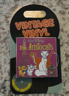 Vintage Vinyl - Pin of the Month - The Aristocats