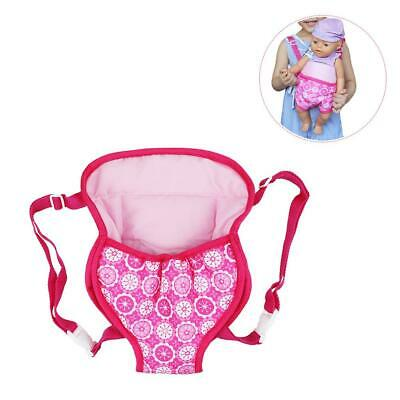 """Baby Doll Dolly Carrier Backpack Carrying Acces 18"""" Doll Girls Toys Bag"""