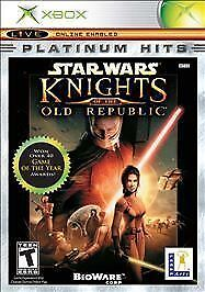 Star Wars: Knights of the Old Republic Platinum Hits (Microsoft Xbox, 2004)