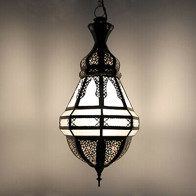 Moroccan Hanging Light Glass Ceiling Light Hanging Light Poisson Frosted Glass