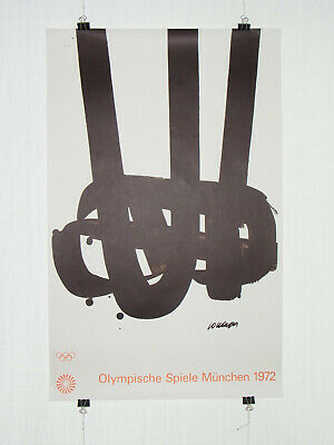 Poster Plakat - Olympiade 1972 München - Pierre Soulages - Moderne