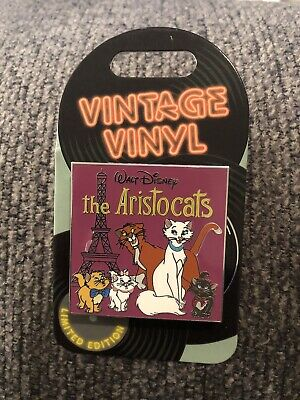 New Disney Parks LE Pin (Vintage Vinyl - The Aristocats) LE 3000