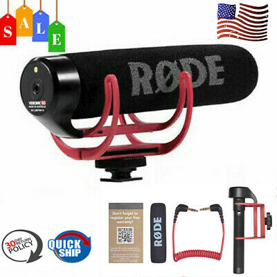 RODE VideoMic Go Super Cardioid Microphone On-Camera Mic for Canon Nikon DSLR