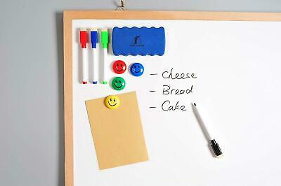 16 Color Dry Erase Marker Pens Easy Whiteboard Wipe Clean Book Kids Magnetic Lid