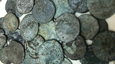 Ancient Roman Coins 1,700 Years Old