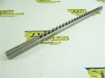 "F&D Precision 1/4""-Iii Hss Keyway Broach"