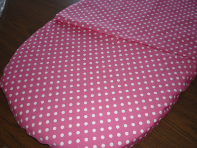 Bassinet Fitted Sheet  and Pillowcase - 100% cotton
