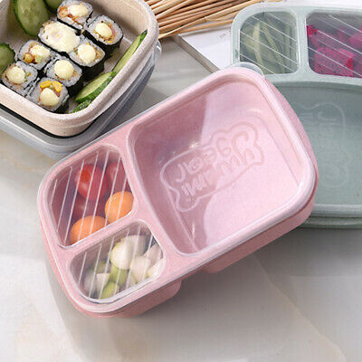 10-50pc Microwavable Meal Prep Container Plastic Food Storage Reusable Lunch Box