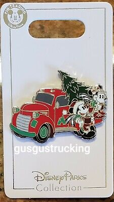 New Disney Parks (2019 Christmas Mickey & Minnie Holiday Truck) Open Edition Pin
