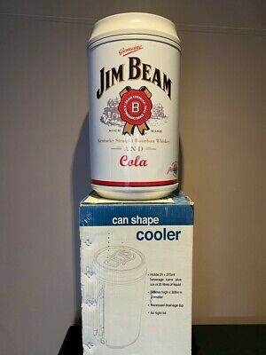 Jim Beam Can Shape Cooler / Esky - NEW in Box - 20L/24 Cans -  w/Tap
